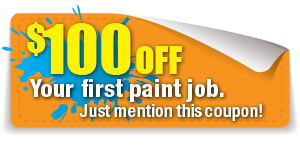 Discount on exterior paint job